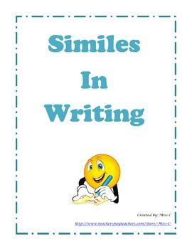 How To Write Essays: A Guide For Using Similes & Metaphors